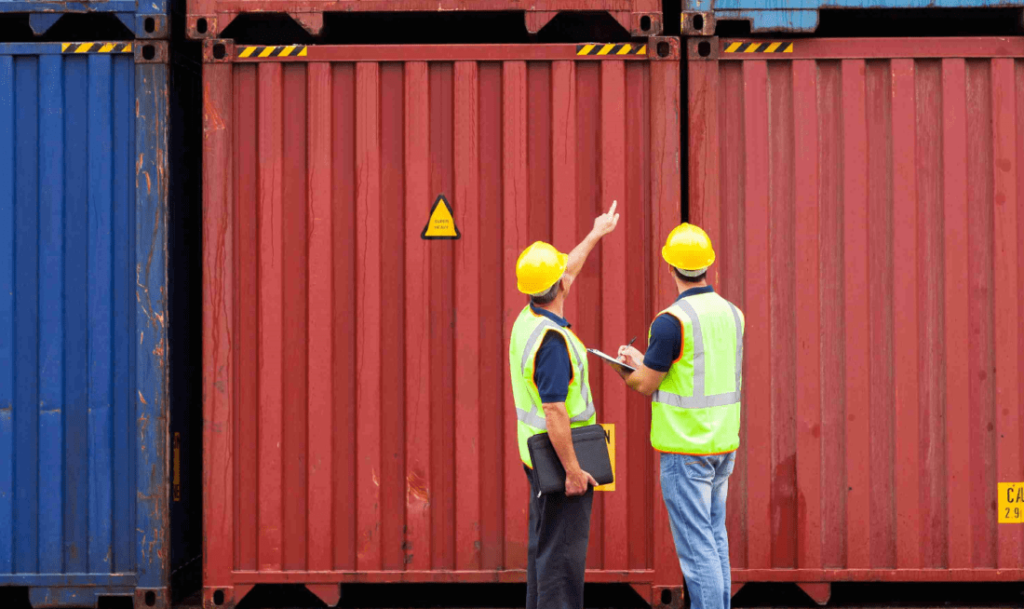 containers inspection, survey, cleanliness and control in tunisia, libya algeria and all north africa country